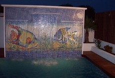 Decoración piscina
